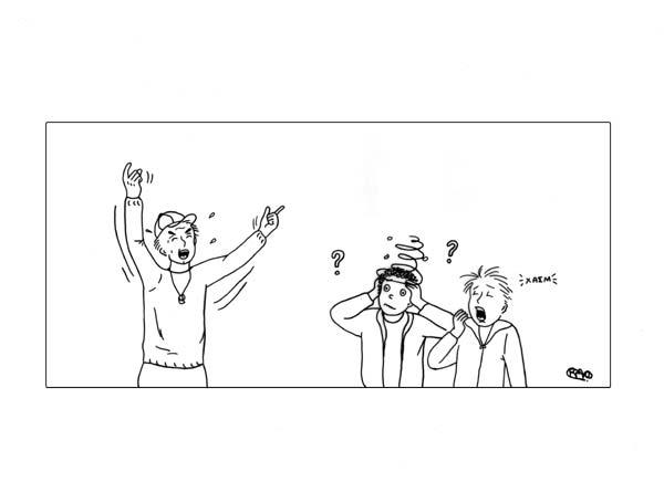 Σχεδιάζουμε κόμικ με θέμα τις καινούριες φιλίες