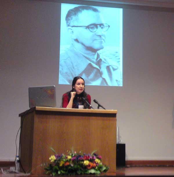 Με επιτυχία πραγματοποιήθηκε η παρουσίαση της Ρένας Αθανασοπούλου  στο Goethe-Institut Θεσσαλονίκης