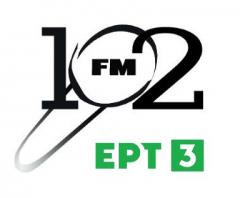 Συνέντευξη στο ραδιοφωνικό σταθμό 102 FM  της  ERT3